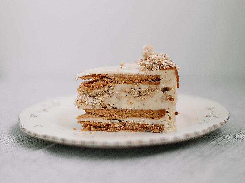 """""""Песочно-ореховый"""" торт"""